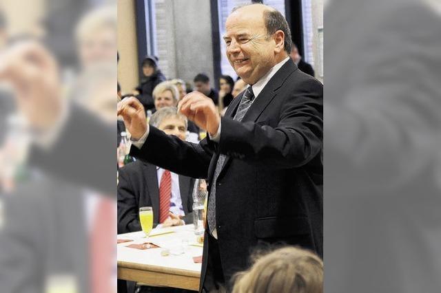 Rektor Albicker:
