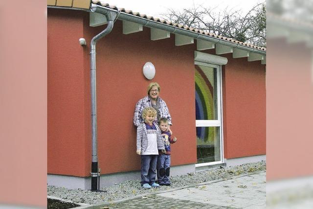 Kindergarten baut Raum an