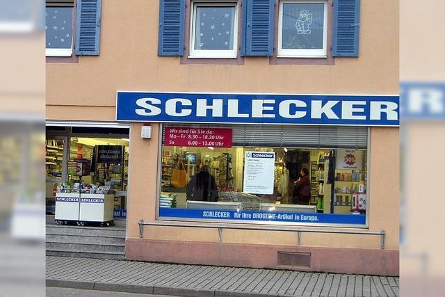 Schlecker schließt Laden