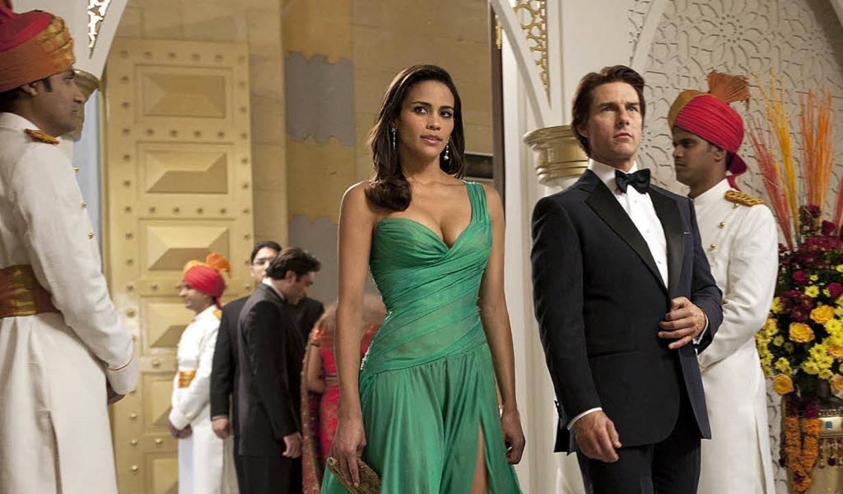 Ethan greift ein: Tom Cruise als Gehei...nt, Paula Patton als Assistentin Jane   | Foto: Paramount