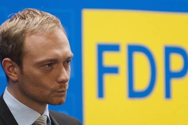 FDP-Generalsekretär Lindner tritt ab - Döring folgt