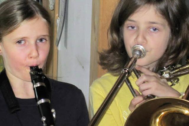 Als wir ein Instrument bekamen