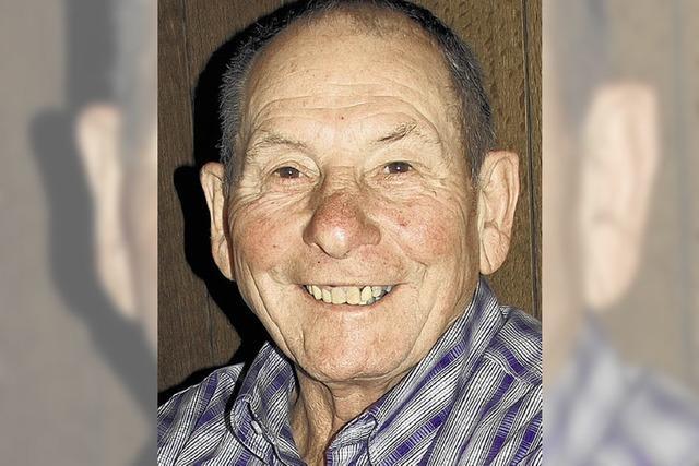 Adolf Bowe wird heute 75 Jahre alt
