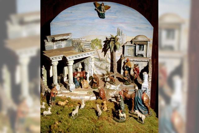 50 Senioren bewundern Krippen in Buchenbach
