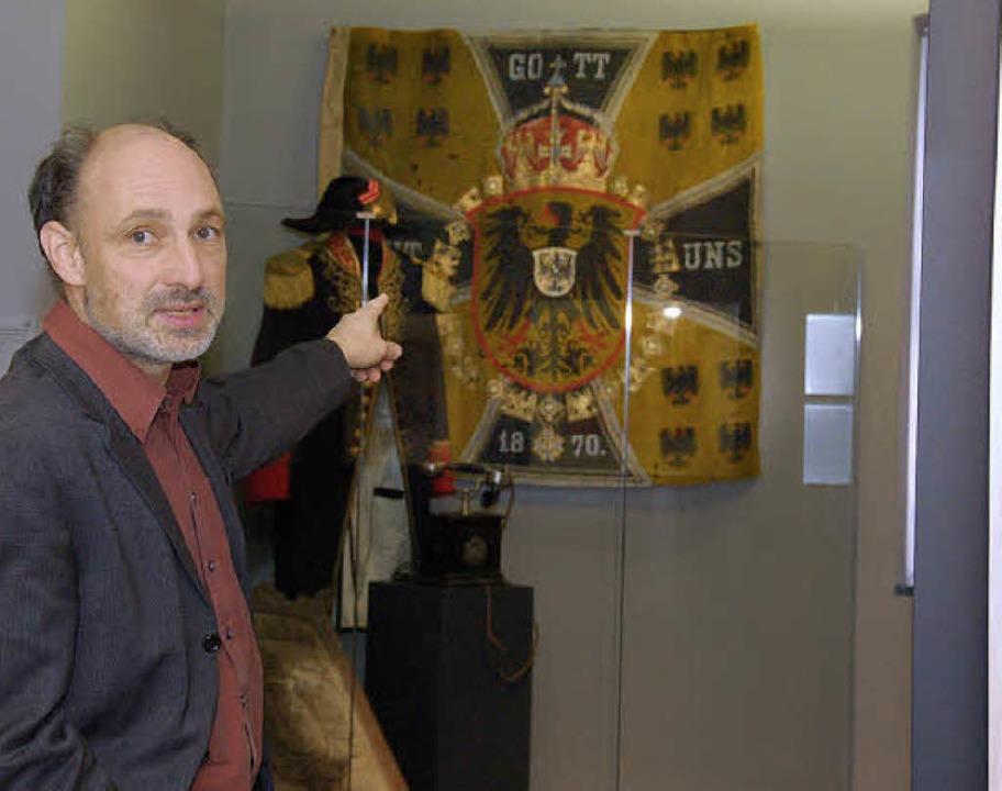 Museumsleiter Markus Moehring in der D...sollen das Hau noch bekannter machen.   | Foto: Archivbild: Trenz