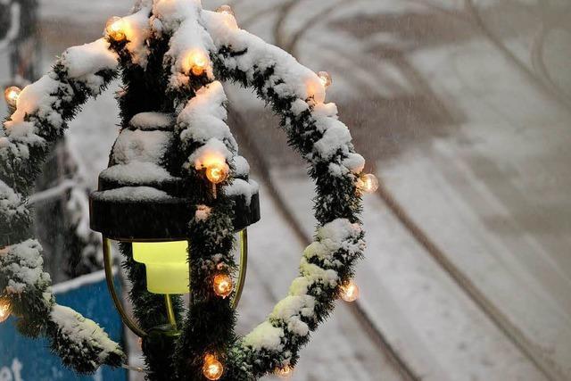 Kommt der Schnee zu Weihnachten?