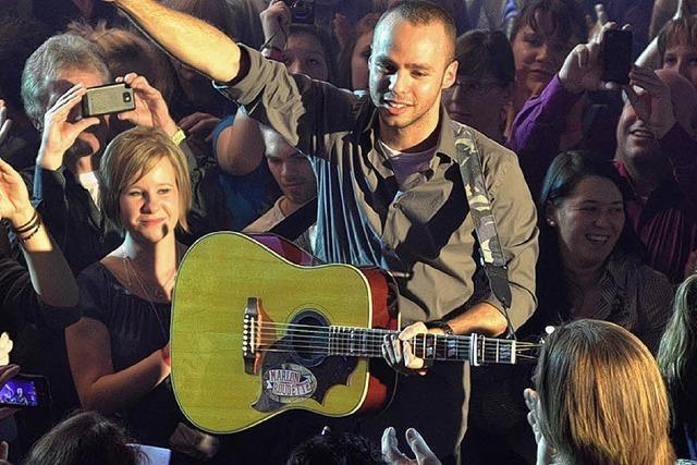 Der britische Popstar Marlon Roudette trat in Freiburg auf