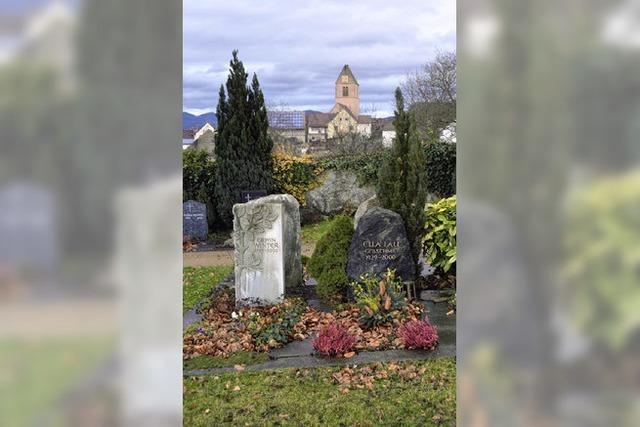 Einigkeit zu Urnenwahlgrab