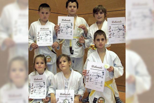 Judokas sind erfolgreich