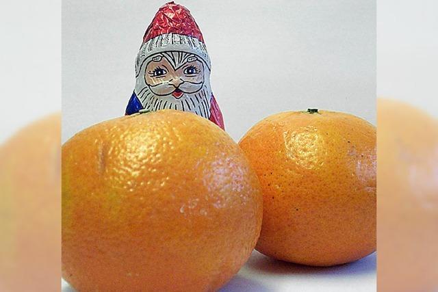 VON 1 BIS 24: Mandarinen mit Nebeneffekt