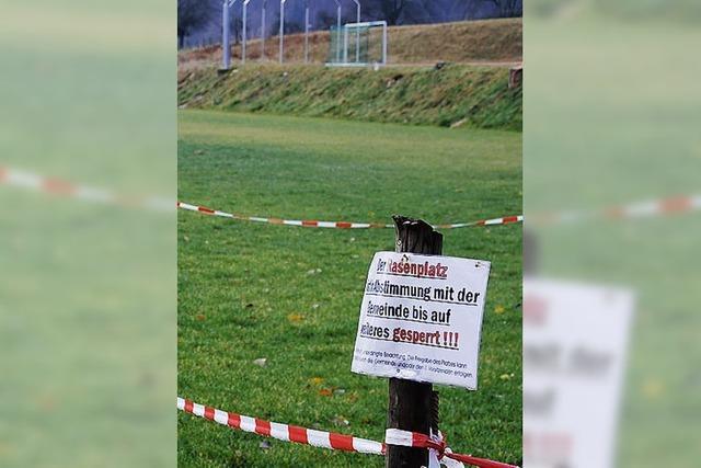 Rückenwind für die Fußballer