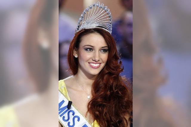 Miss Frankreich redet sich um Kopf und Krönchen