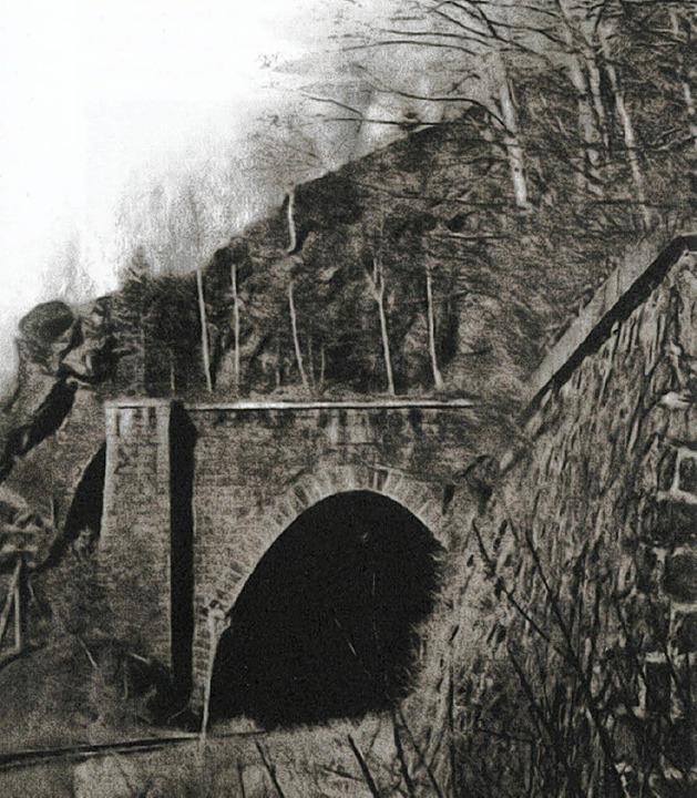 Hier kam der Hammer zum Einsatz: Tunnel im Schwarzwald   | Foto: swr