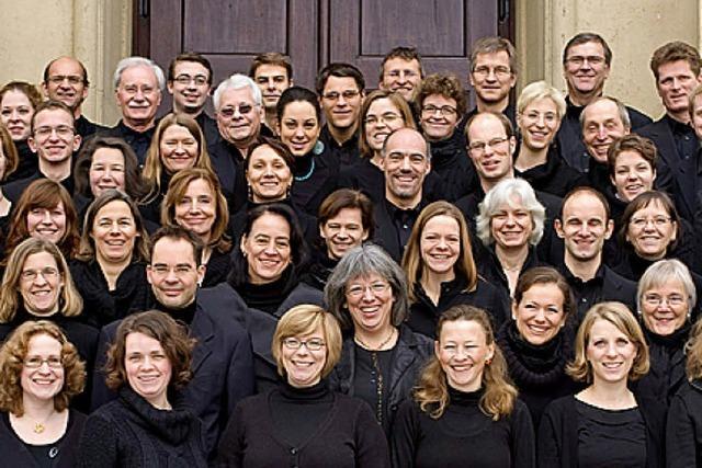 Freiburger Kammerchor singt Brahms-Requiem