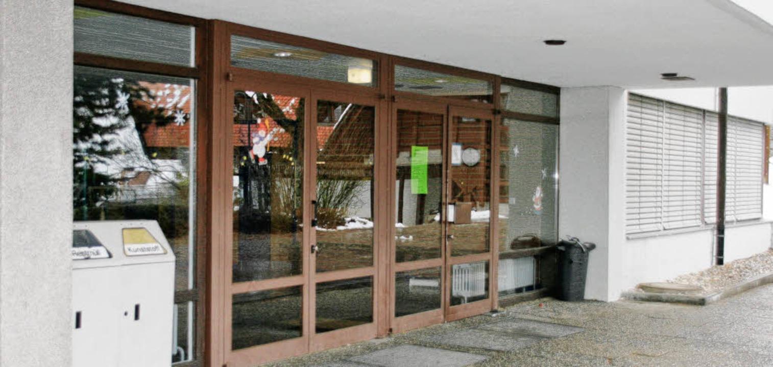 Auch in die Haupt- und Werkrealschule ...en Windfang mit Doppeltüren erhalten.   | Foto: Chris Seifried