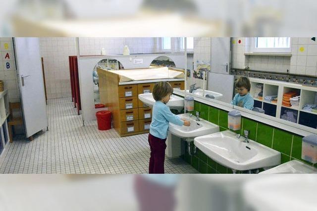 Kindergarten wird saniert