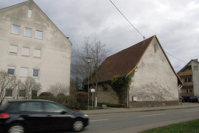 Ein Wohnhof für den östlichen Ortseingang