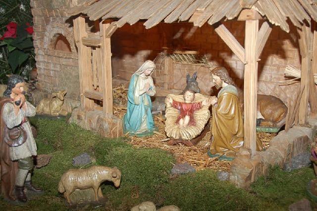 Maria und Josef aufpoliert