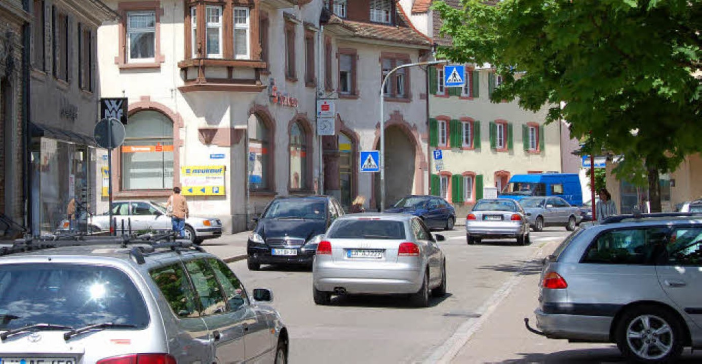 Die Verkehrsbelastung im Steinener Ort... Planungsbüro ins Boot geholt werden.   | Foto: Wolfgang Roth