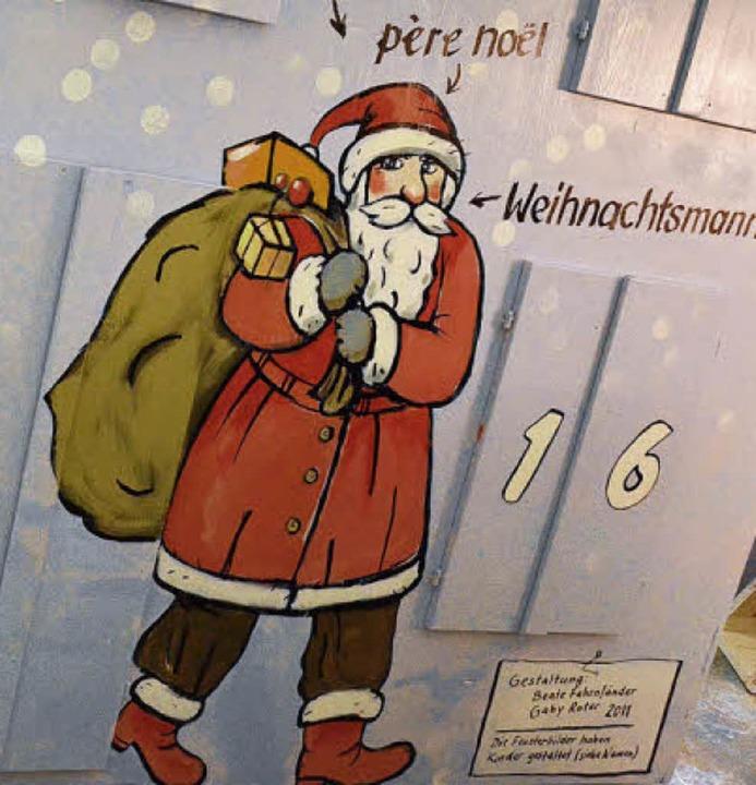 Père Noël aus Frankreich   | Foto: B. Ruda