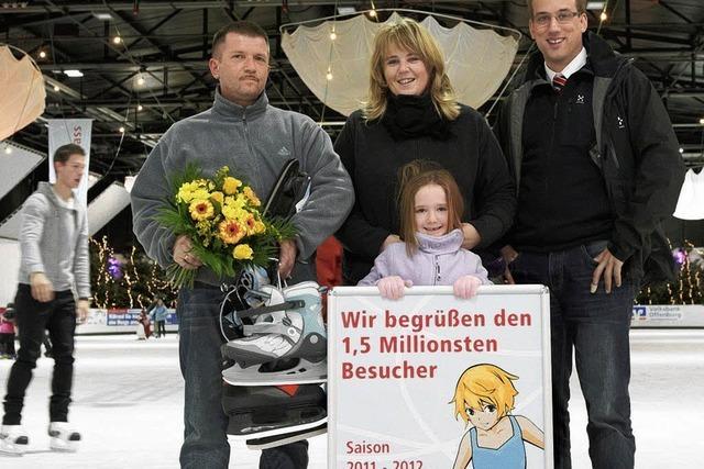 1,5 Millionen Besucher in der Eislaufhalle Offenburg