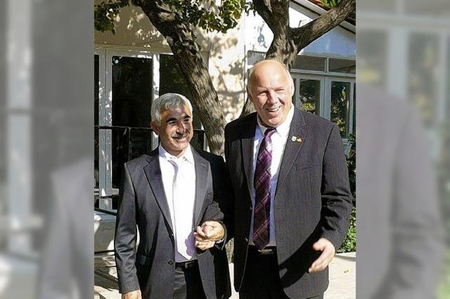 Sultan, Bashkan und Obama