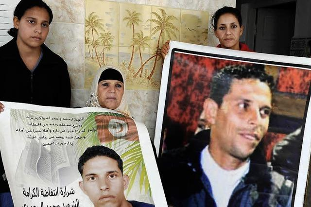 Tunesien feiert den Helden des arabischen Frühlings