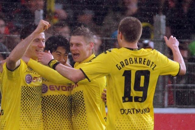 Endstand: SC Freiburg – Borussia Dortmund 1:4