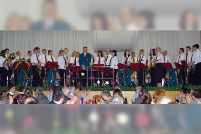 Musikverein lässt sich feiern