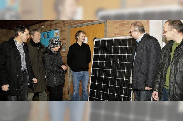 Die Energie-Genossen sind seit Samstag am Netz