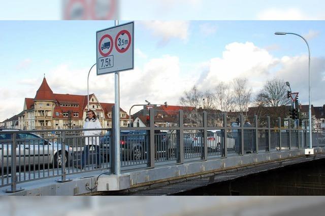 Unionbrücke saniert - Verkehr rollt wieder