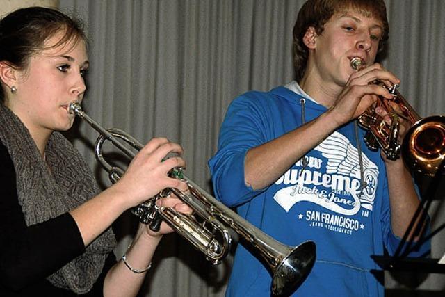Musiker zeigen ihr Können
