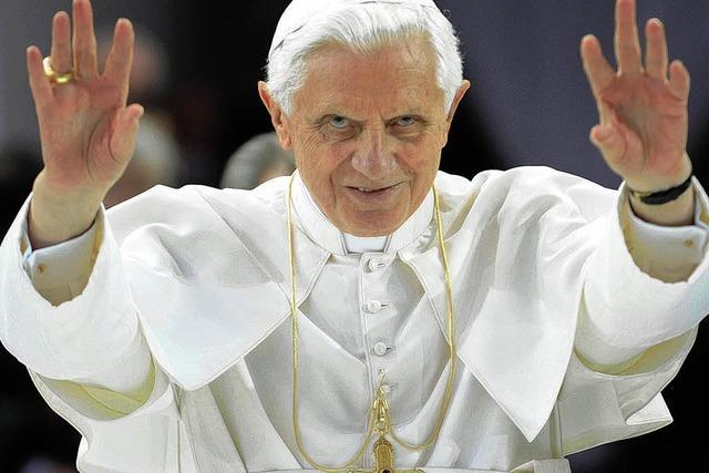 Der Papst unter Häftlingen