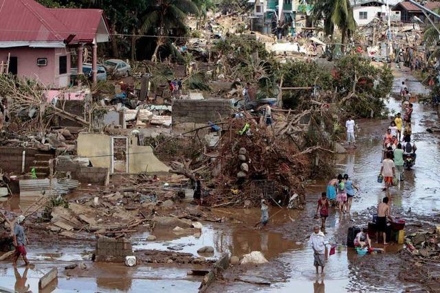 Sturzflut auf den Philippinen: Das Grauen kam über Nacht