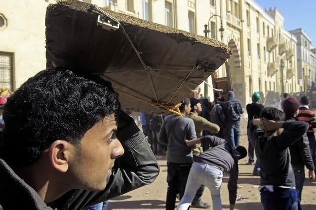 Ausschreitungen in Kairo reißen nicht ab