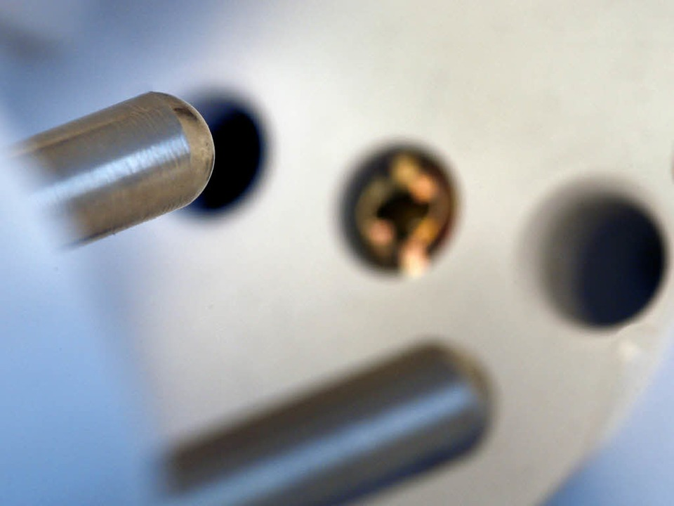 Elektroinstallation muss sicher sein.  | Foto: usage worldwide, Verwendung weltweit