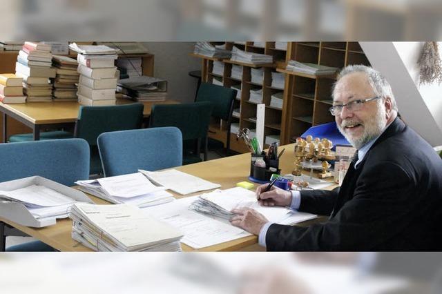 Kenzingen soll Notariat verlieren - Gemeinderat protestiert