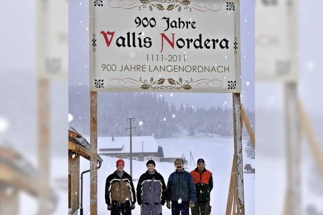 Vallis Nordera feiert 900 Jahre