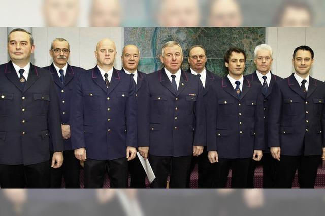Kreisbrandmeister und Stellvertreter sind nun im Amt