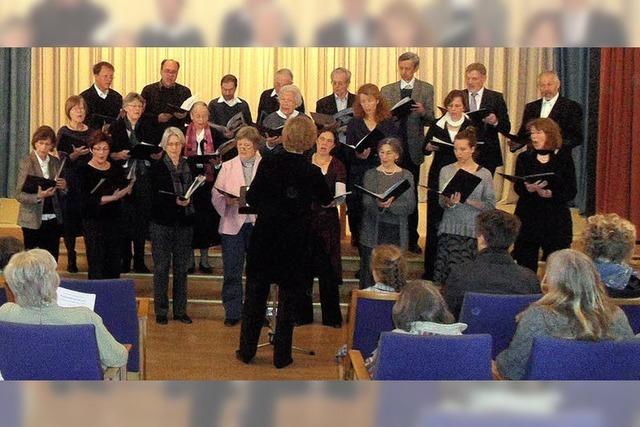 Chormusik zum Advent