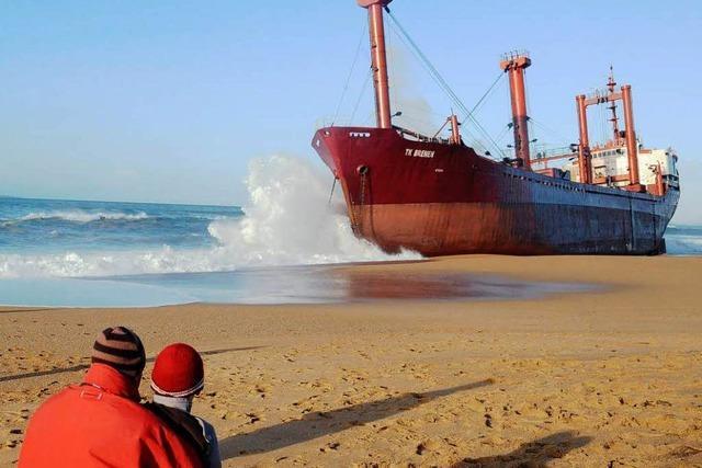 Schiffsunglück macht die Bretagne wütend