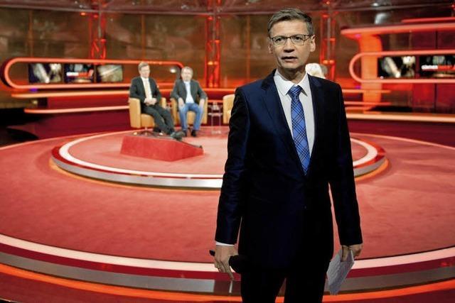 Durchwachsen: Günther Jauch als Talkmaster in der ARD