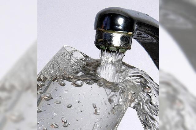 Die Wassergebühren werden 2012 nicht erhöht
