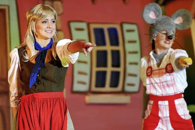 900 hatten an Cinderella ihre helle Freude