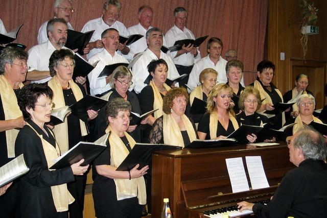 Große Herausforderung für kleinen Chor