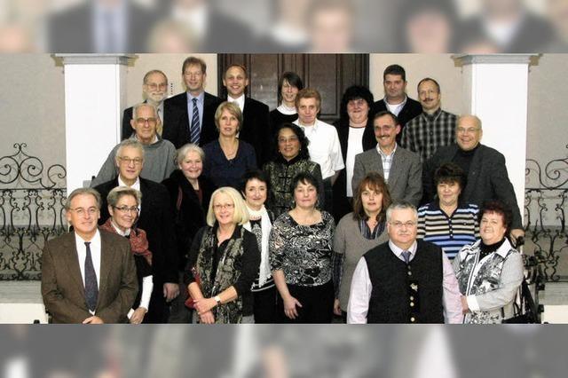 Kolleg ehrt zahlreiche langjährige Mitarbeiter