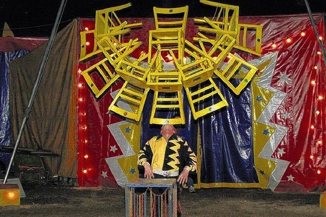 Weihnachten im Zirkuszelt