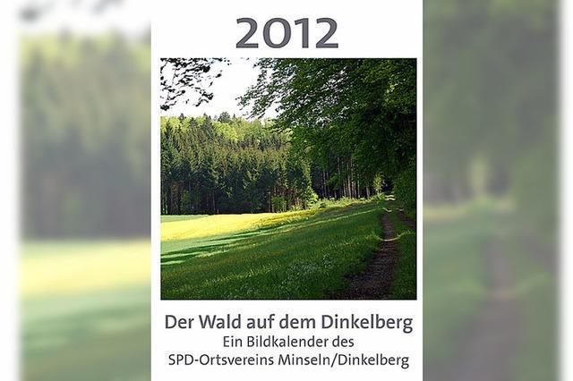 Kalender 2012 zum Thema Wald