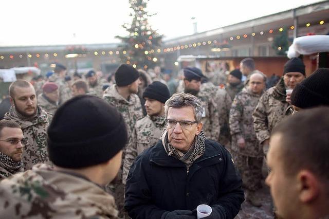 Bundeswehr: Jeder vierte Freiwillige bricht Dienst ab