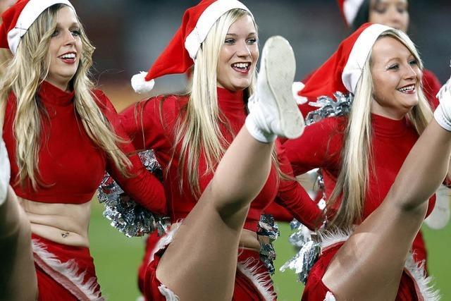 Viele Sportler haben keine Weihnachtsferien